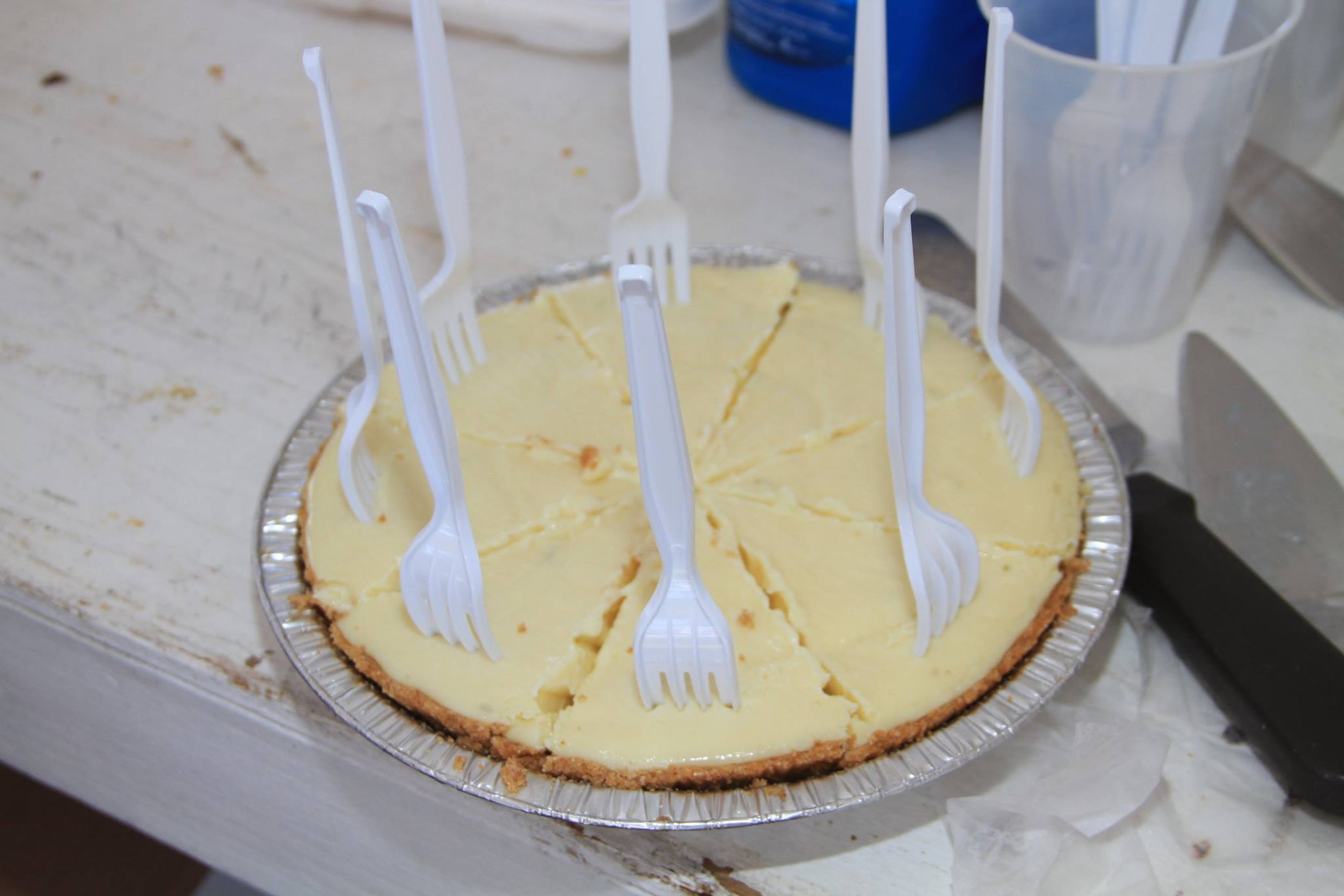Save a little room for a wedge of Key Lime pie!