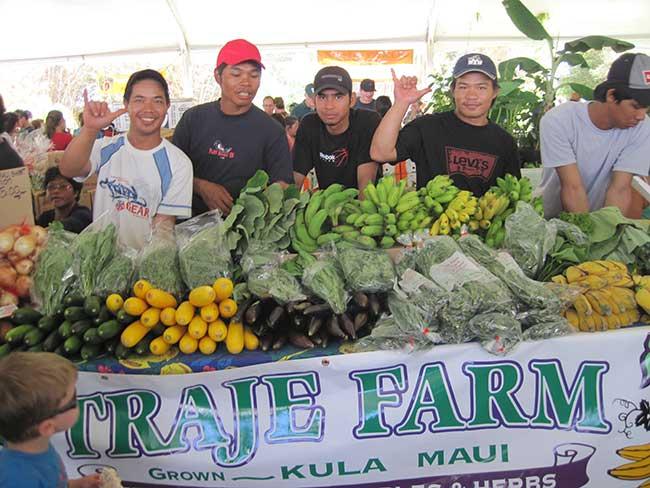 Maui County Agricultural Festival, Wailuku, HI