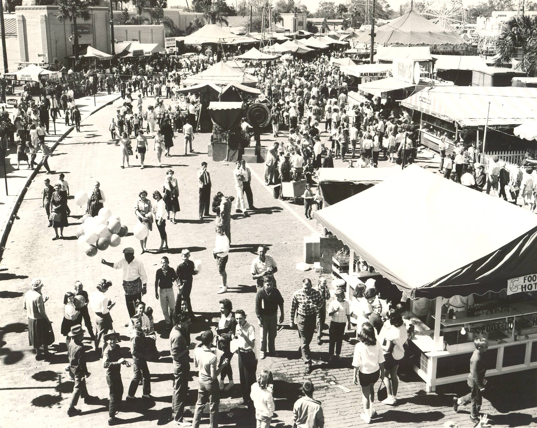 The 1966 edition of the fair, when it was held in downtown Orlando