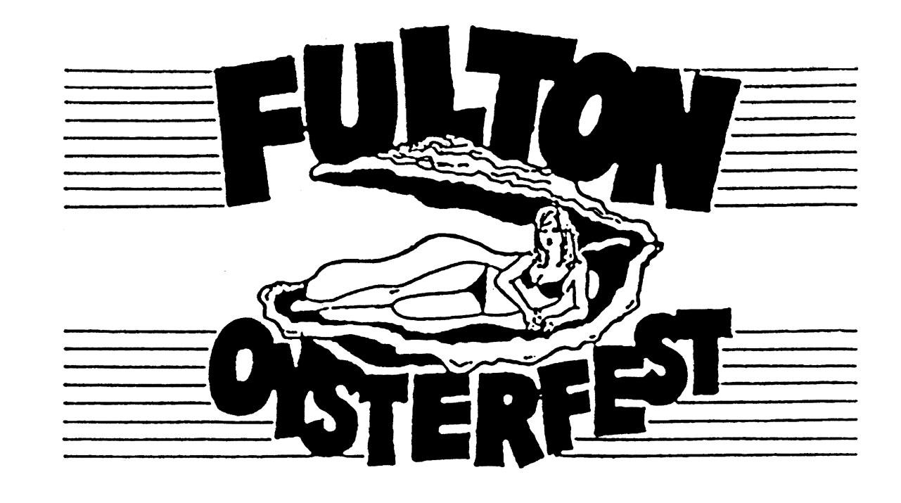 Oysterfest Logo, Oysterfest, Fulton, TX