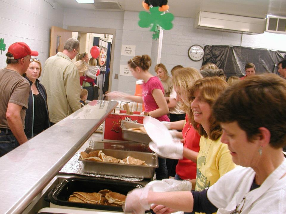 Begin your Buzzard Day with a pancake breakfast at the Hinckley elementary school.