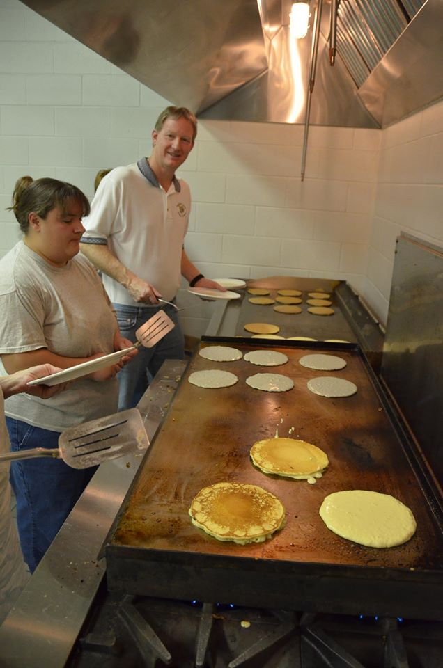There'll be pancakes with Highland maple syrup all over the region this weekend and next.