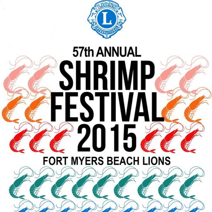 Shrimp Fest Logo, Fort Myers Beach Shrimp Festival, Fort Myers Beach, FL