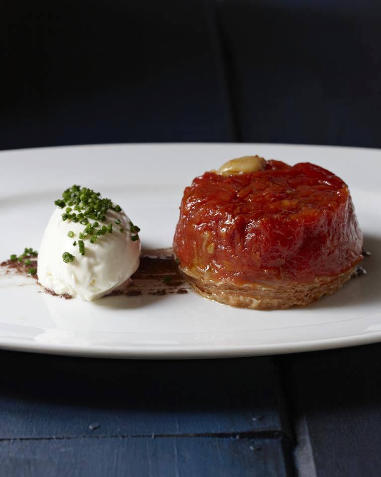 FIG's tomato tarte tatin