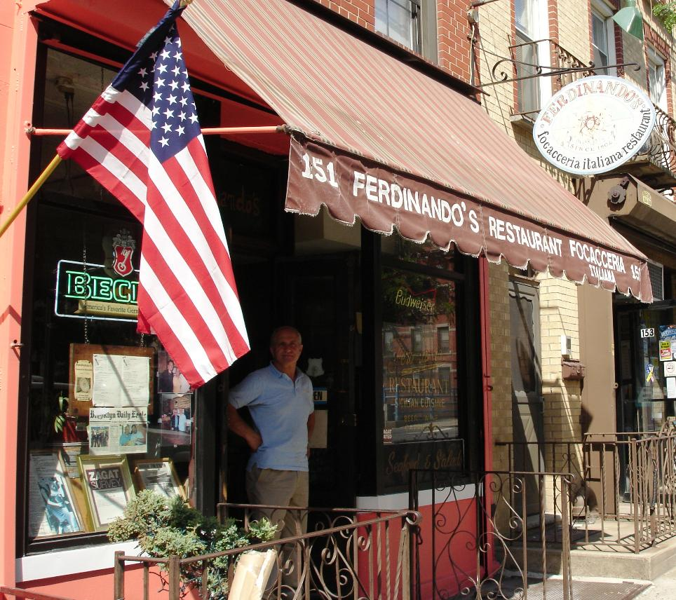 Carroll Gardens is not quite the Italian neighborhood it once was, but Ferdinando's remains from an earlier time.