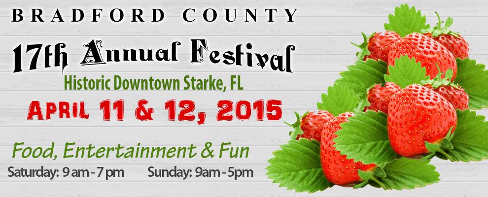 Festival, Bradford County Strawberry Festival, Starke, FL