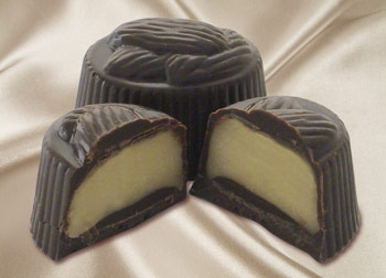 Monica uses an organic Italian marzipan in her exquisite Marzipan Cremes.
