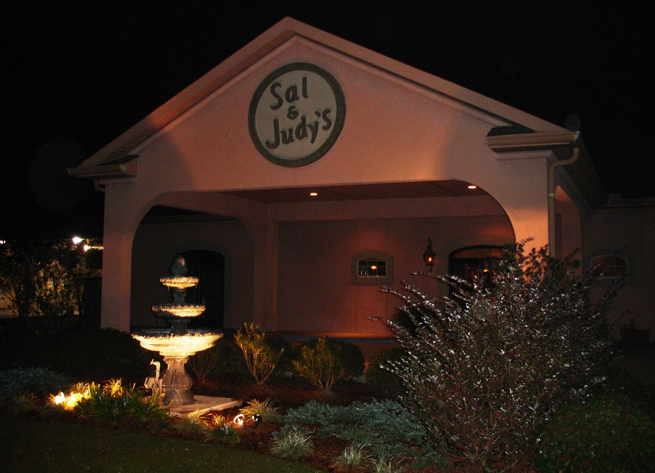 Sal & Judy's is located on the north shore of Lake Pontchartrain. I-10 is probably quicker than the causeway.