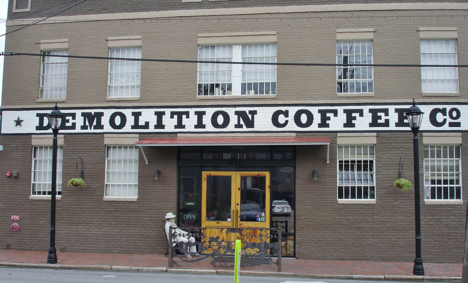 Demolition Coffee, Petersburg, VA