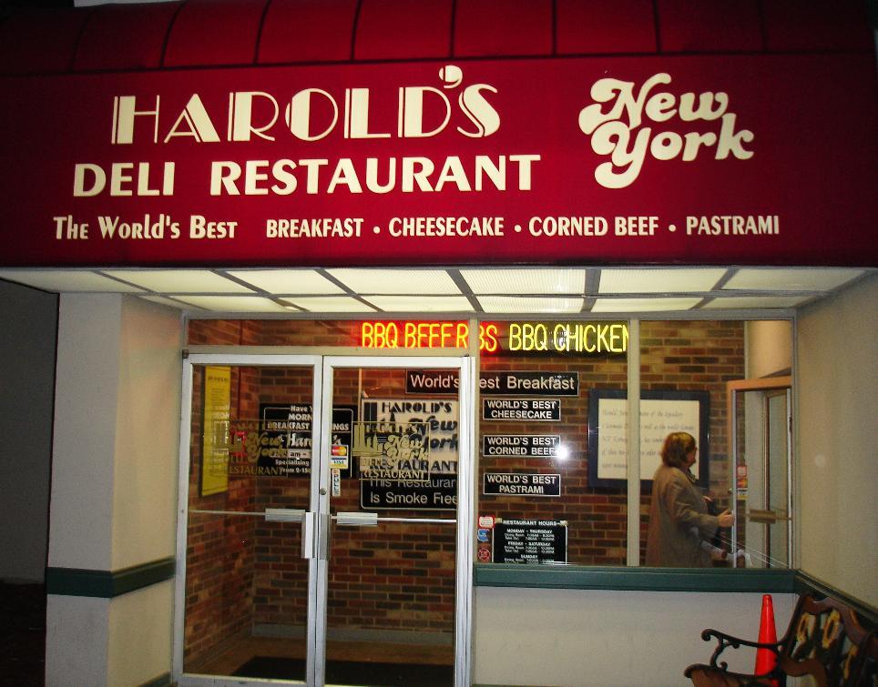 Harold's New York Deli, Edison, NJ