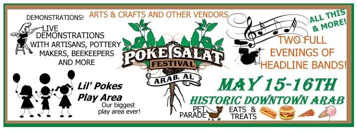Poke Salat Festival, Arab, AL