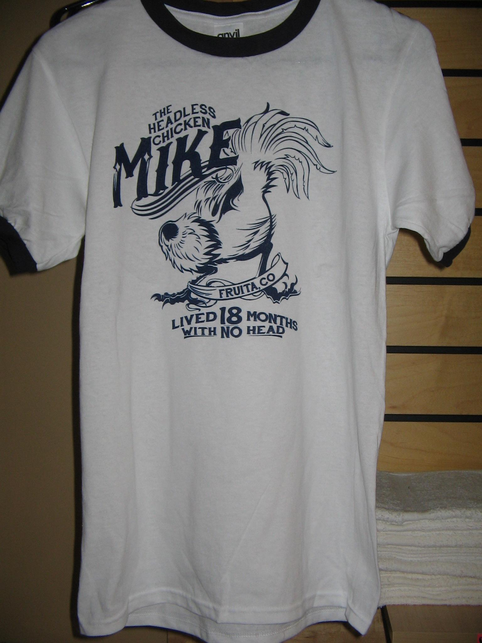 Shirt, Mike the Headless Chicken Festival, Fruita, CO