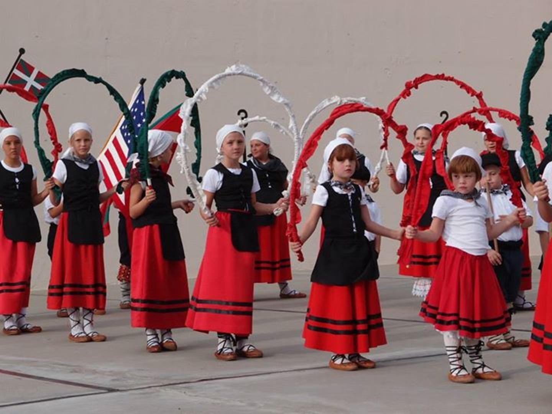 Dancers, National Basque Festival, Elko, NV