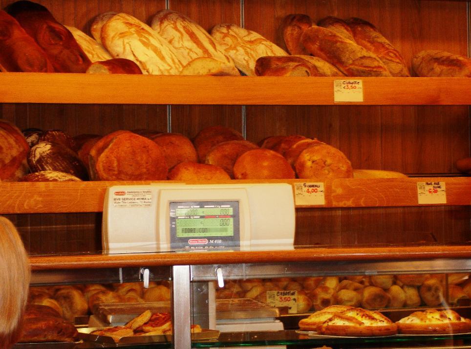 Forno Campo de' Fiori is a full-service bakery.