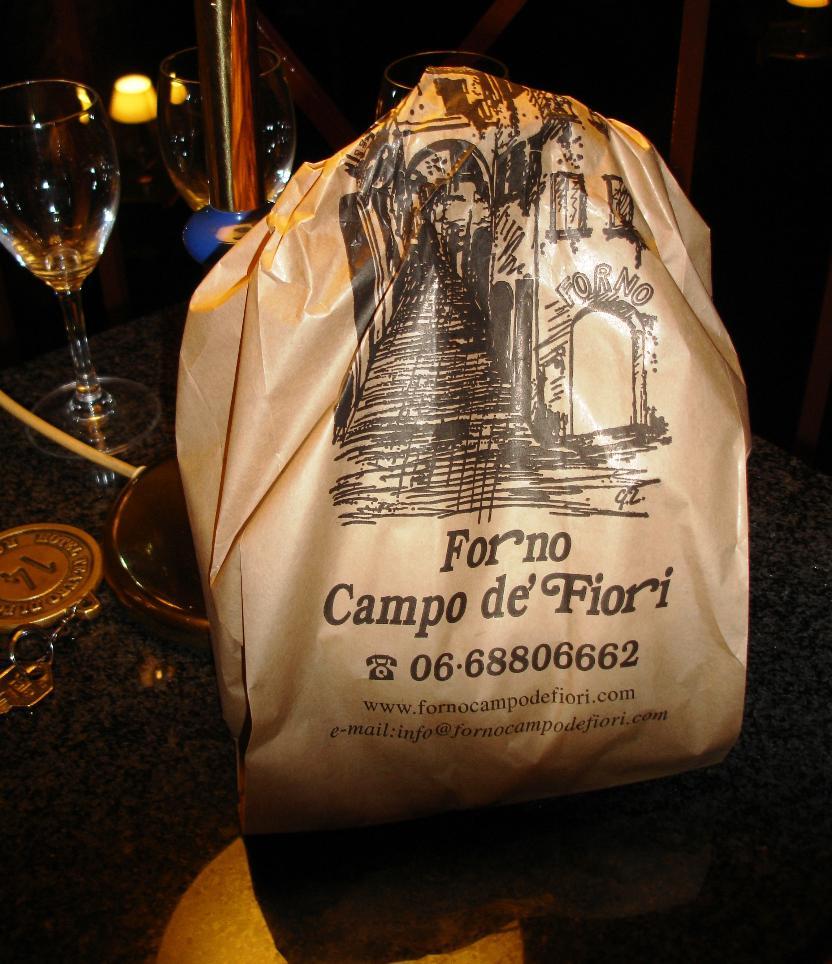Bag, Forno Campo de' Fiori, Rome Italy