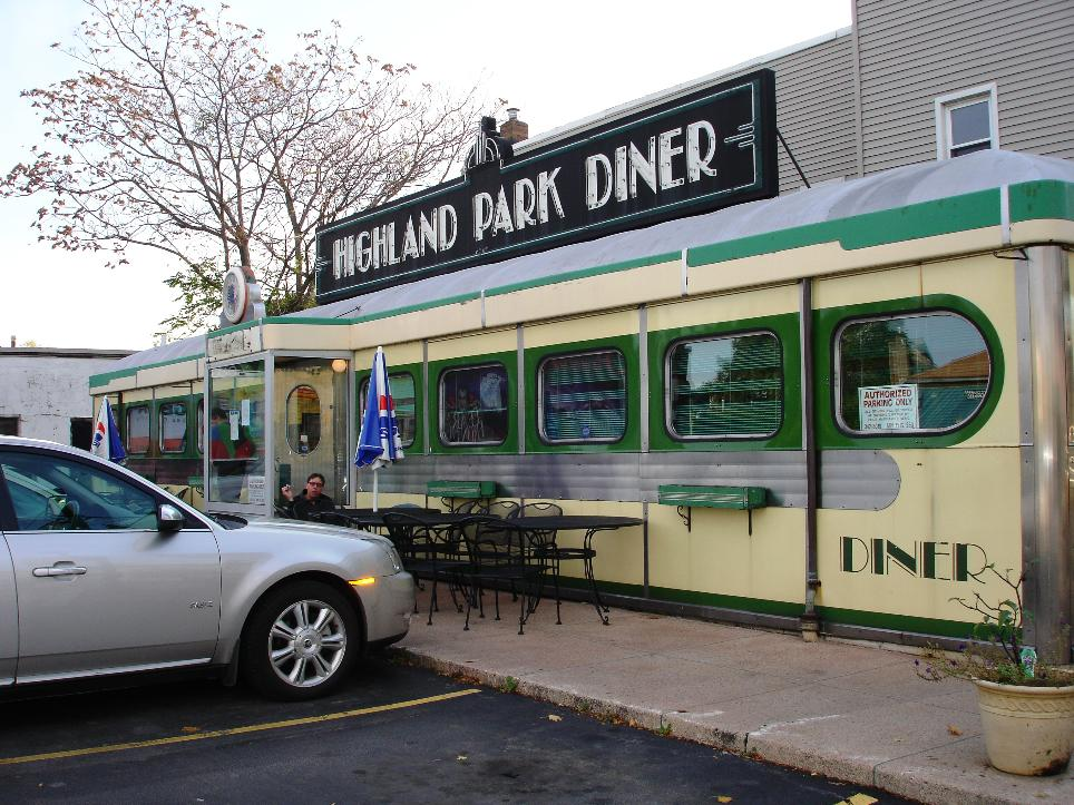 The Cake Artist Cafe Highland Ny : Highland Park Diner, Rochester NY   Left at the Fork