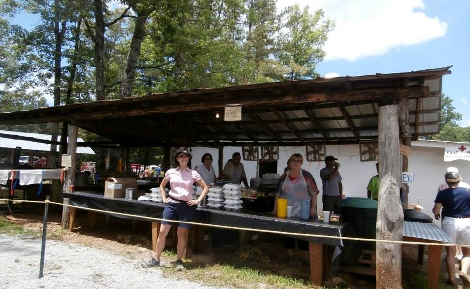 Pork Vendor, Hillbilly Day, Mountain Rest, SC