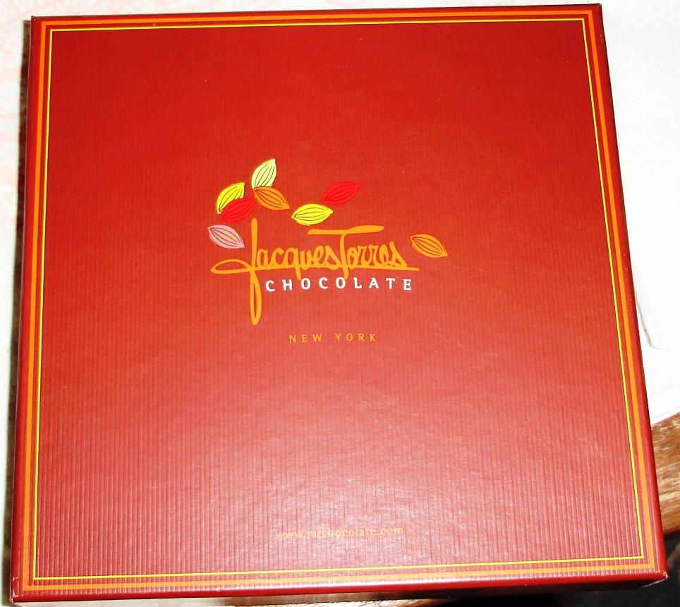 Boxes of chocolates from Jacques Torres make a perfect gift, even if the recipient is yourself.