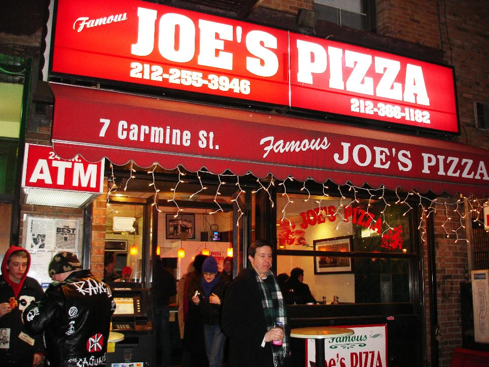 "Joe's is most definitely a food-of-the-people kind of place, with no pretense whatsoever. Be prepared for crowds, jostling, and that unique brand of New York ""directness."""