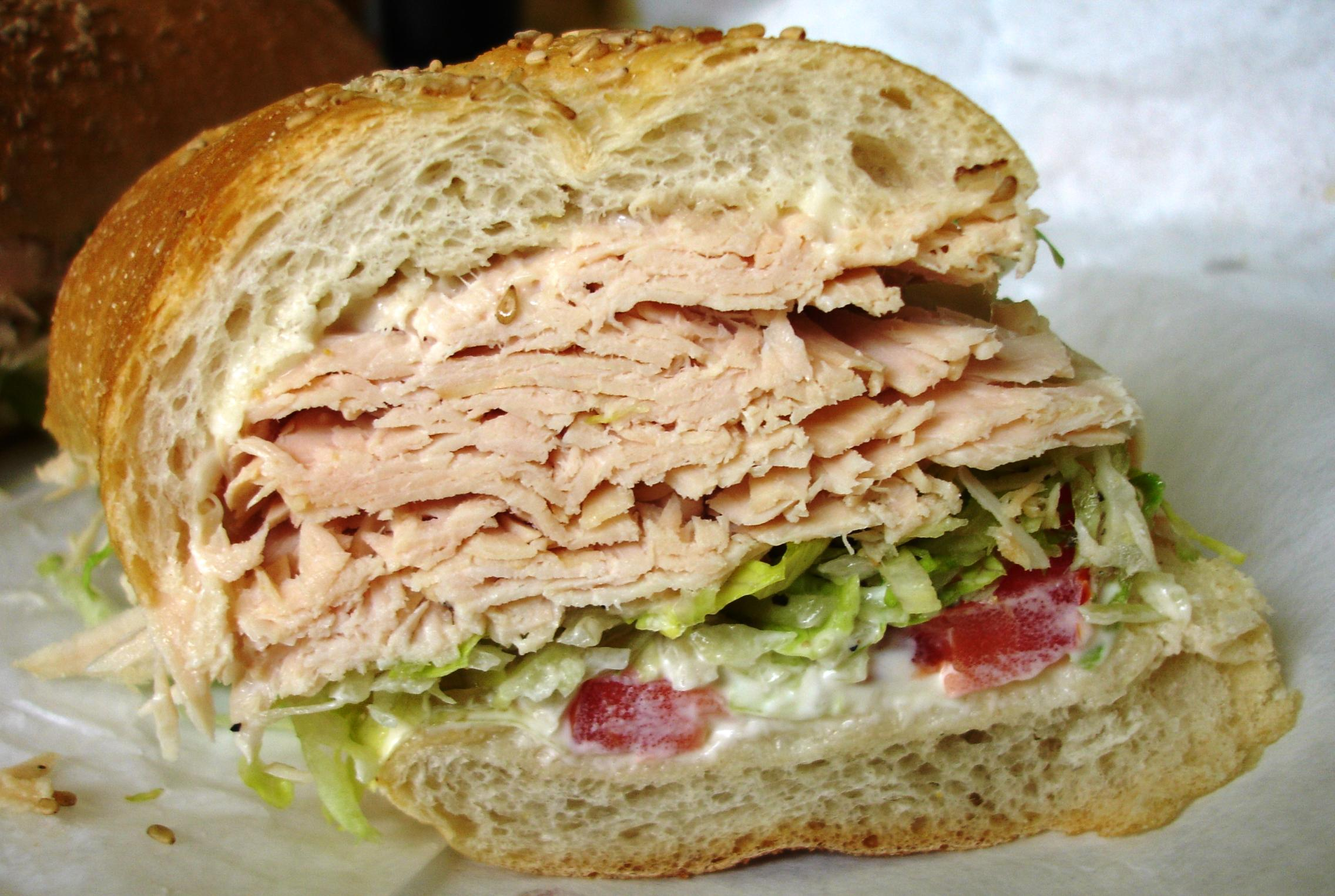 We especially love the King's turkey sandwiches. Be sure to ask for the turkey roasted in-house, not the deli turkey.