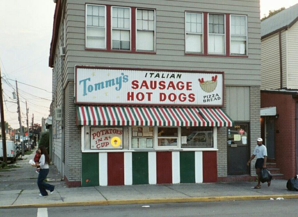 Tommy's is take-out only.