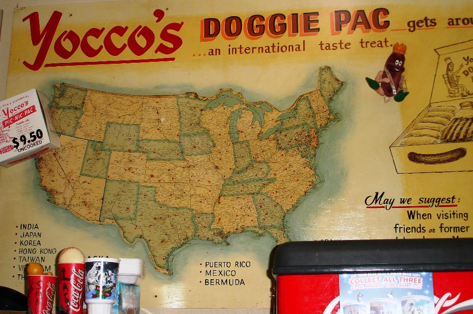 Yocco's dogs are popular with expatriate Allentowners.
