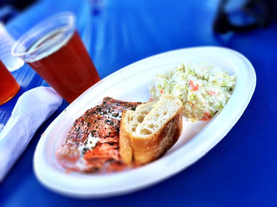 Salmon, Ballard SeafoodFest, Seattle, WA