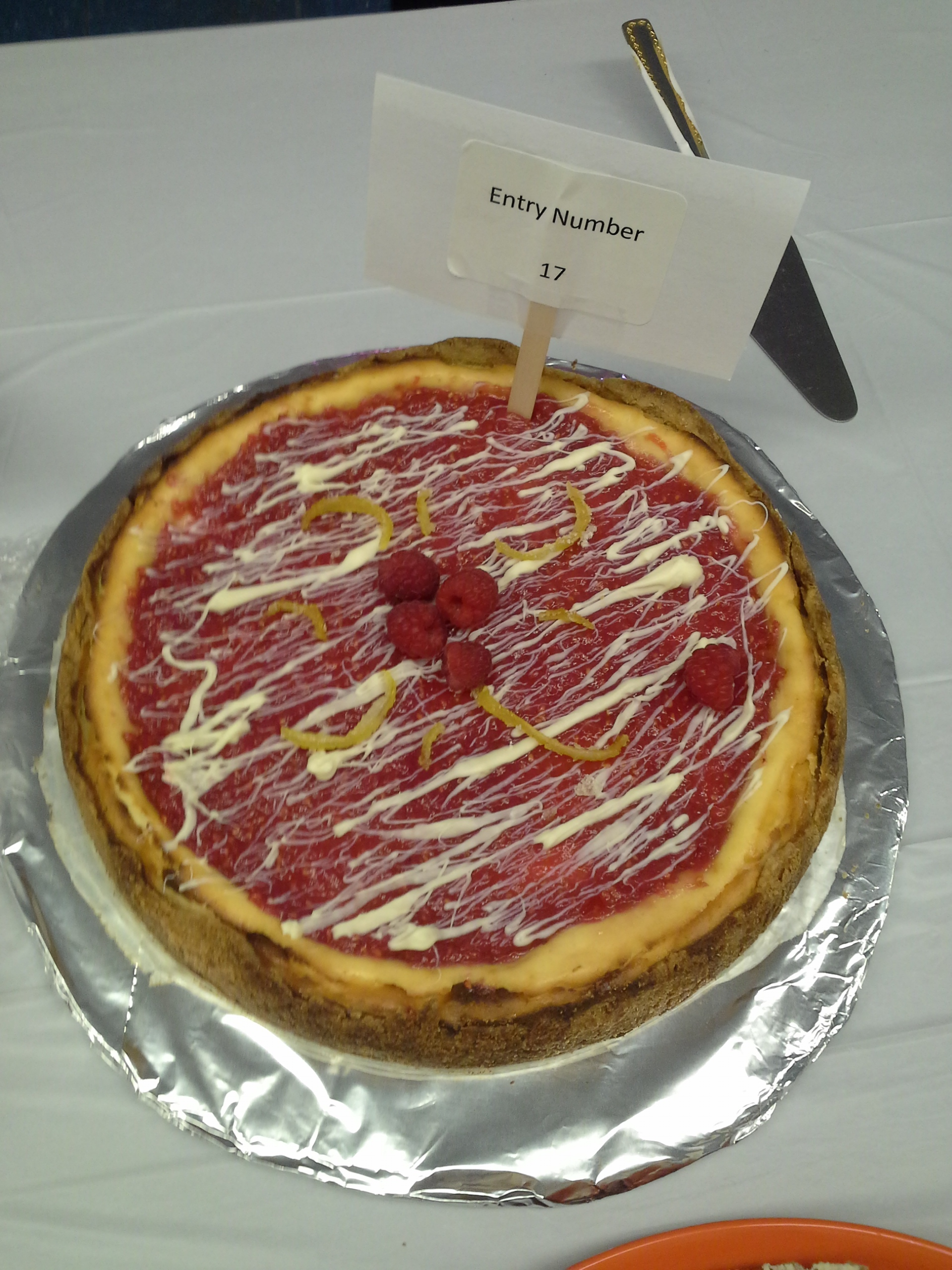 Last year's 3rd place cheesecake winner.