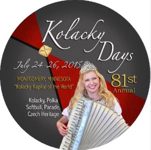 Button, Kolacky Days, Montgomery, MN