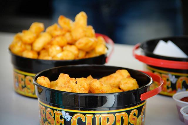 What would a Northern Plains fair be without fried cheese curds?