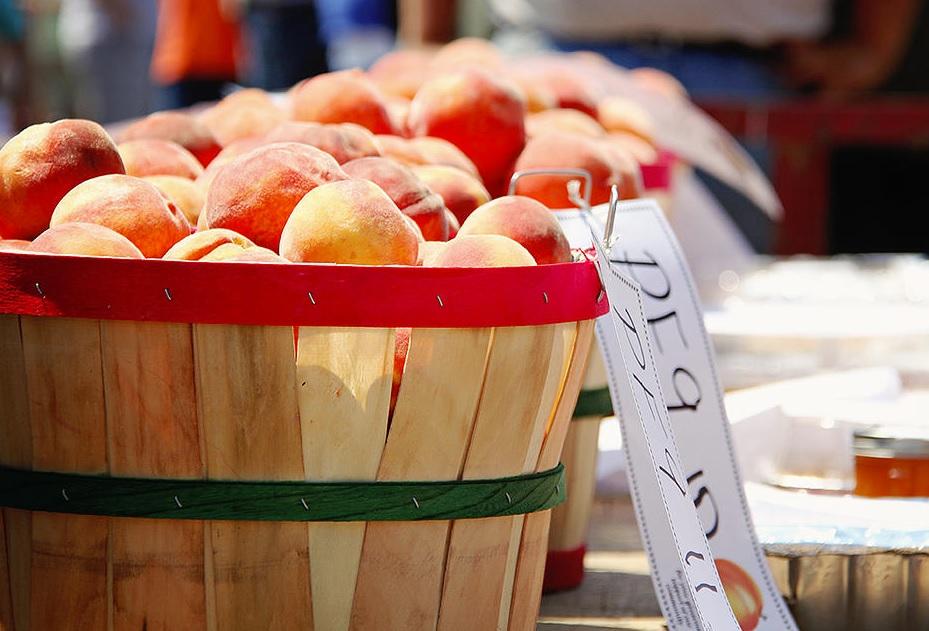 Peaches, Porter Peach Festival, Porter, OK