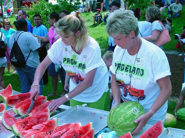 Watermelon, Pageland Wsatermelon Festival, Pageland, SC
