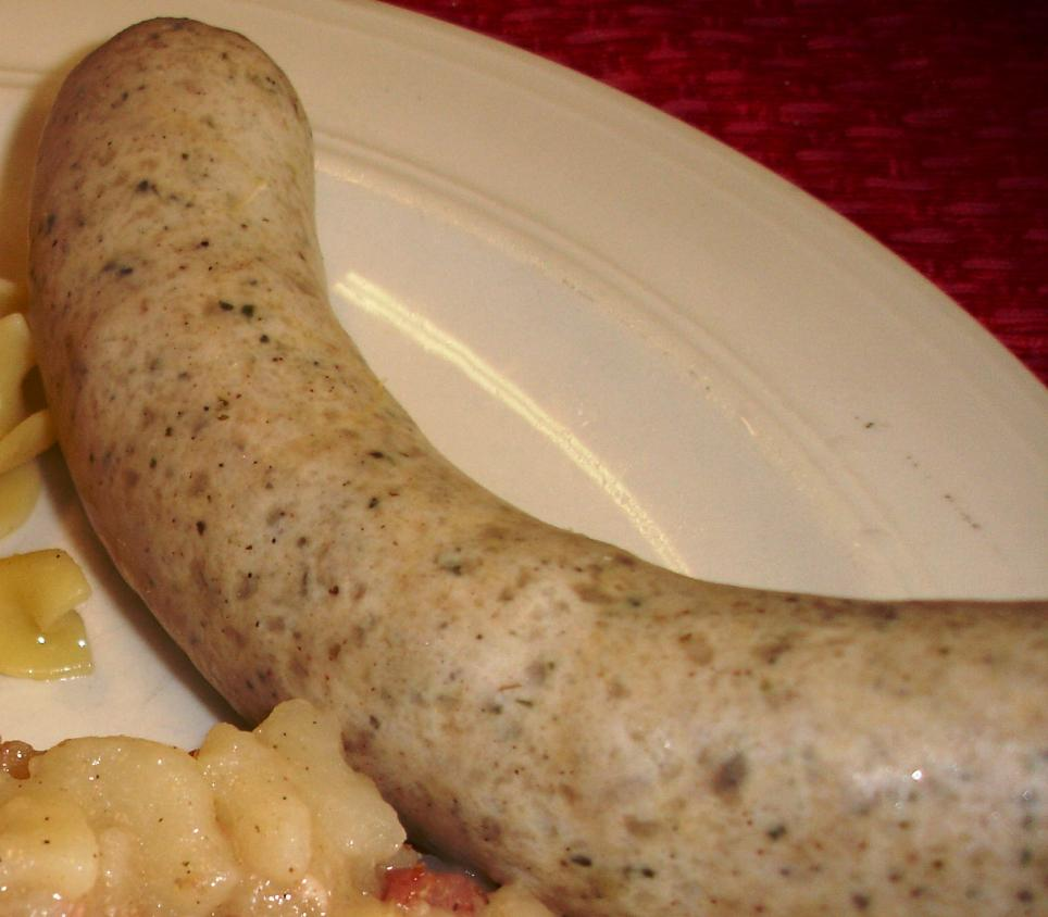 The fresh bratwurst is gentle and easy to love.