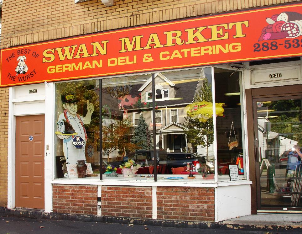 The Swan Market is a lunchtime treat, and bargain, in Rochester.