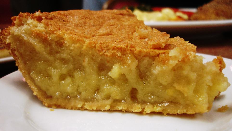 You'd be hard-pressed to find a better chess pie in Nashville.