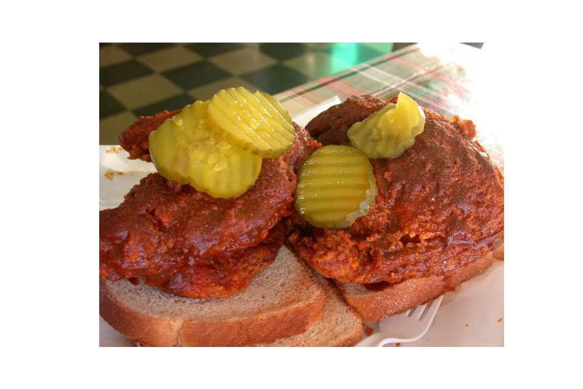 Hot Chicken, Prince's Hot Chicken Shack, Nashville, TN
