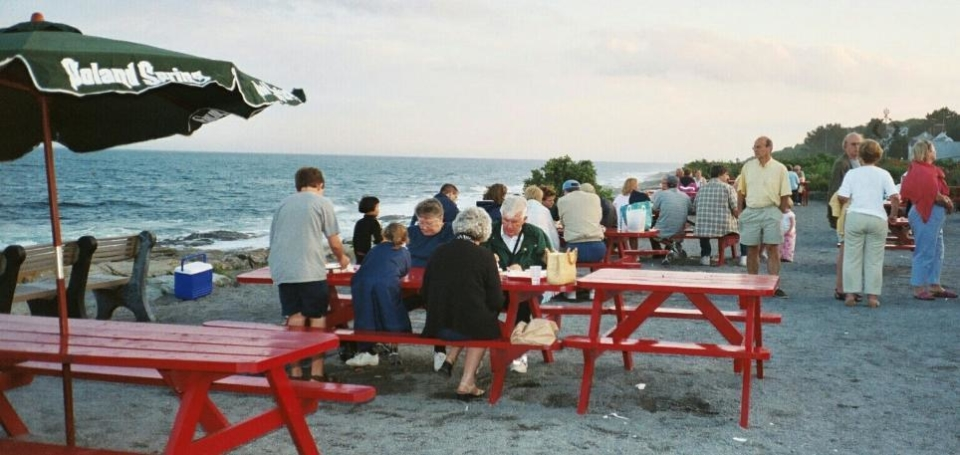 There's probably no more scenic a dining spot than along the water at The Lobster Shack in Cape Elizabeth, Maine.