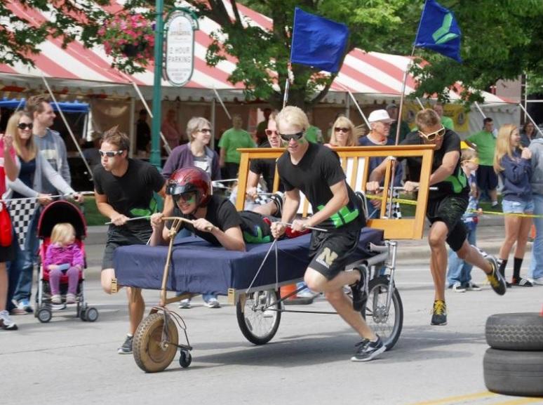 Bed Race, Jefferson County Watermelon Festival, Monticello, FL