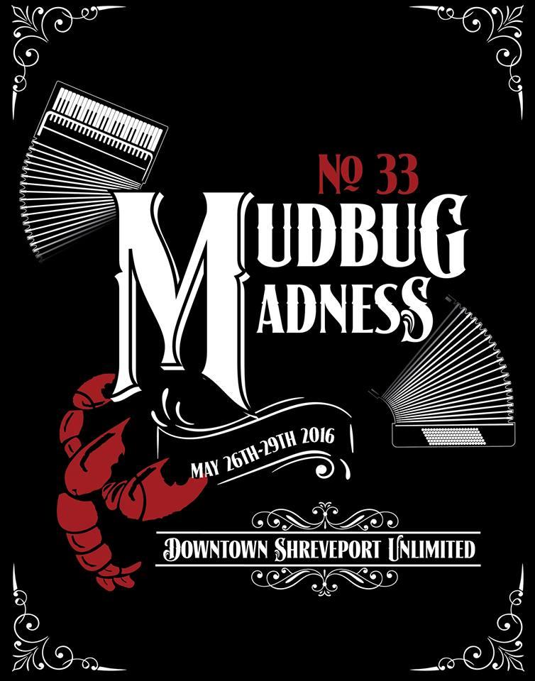 Poster, Mudbug Madness, Shreveport, LA