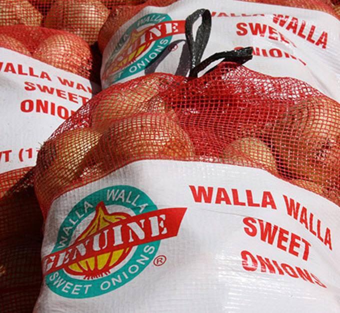 Bags of Onions, Walla Walla Sweet Onion Festival, Walla Walla, WA