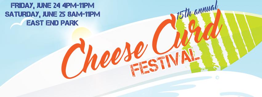 Banner, Cheese Curd Festival, Ellsworth, WI