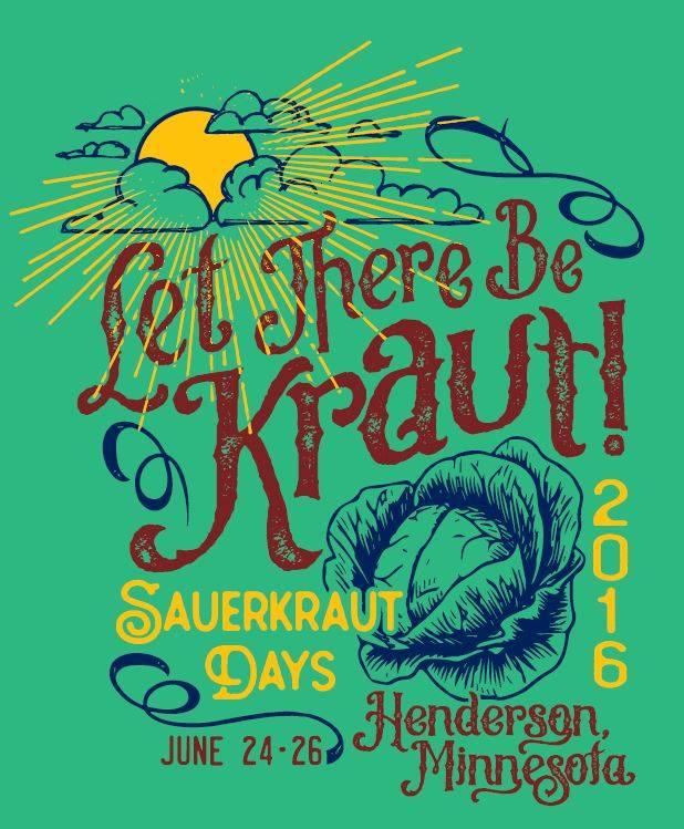 Poster, Henderson Sauerkraut Days, Henderson, MN